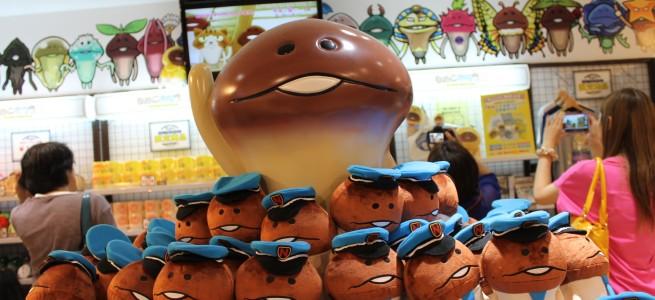 限定駅長なめこやふなっしーとのコラボも見逃せない「なめこ市場 東京本店」が東京駅にオープン