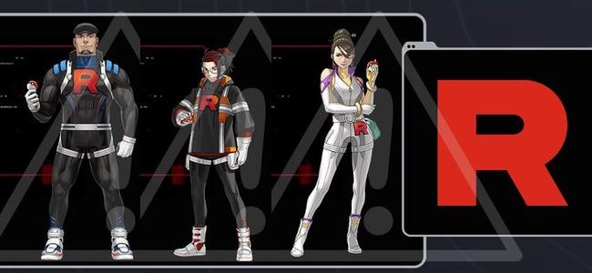 【ポケモンGO】ロケット団の団員3人の姿と名前が判明。今後バトルに登場か