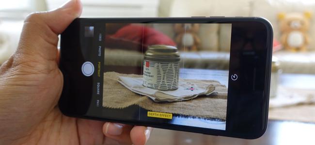 ベータテストが開始されたiOS 10.1のカメラで「ポートレートモード」が利用可能に!「ポートレートモード」って何?