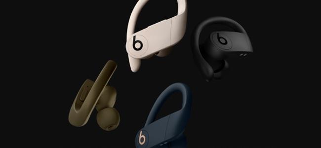 Beatsの完全ワイヤレスイヤホン「Powerbeats Pro」の日本国内販売が7月まで延期。カラーはブラックのみで、アイボリー、モス、ネイビーは引き続き今夏発売予定
