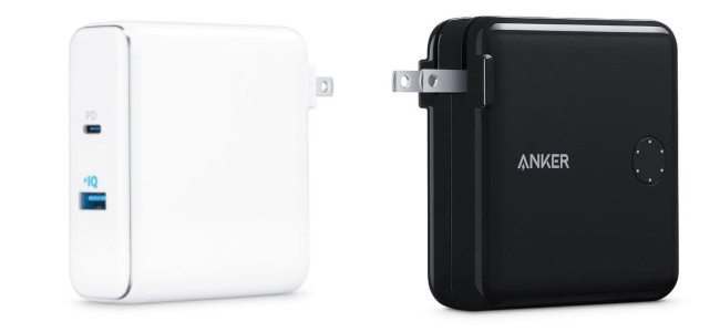 AnkerがUSB-C PD対応のモバイルバッテリーに充電アダプタを備えた「PowerCore Fusion Power Delivery Battery and Charger」をApple専売として発売開始