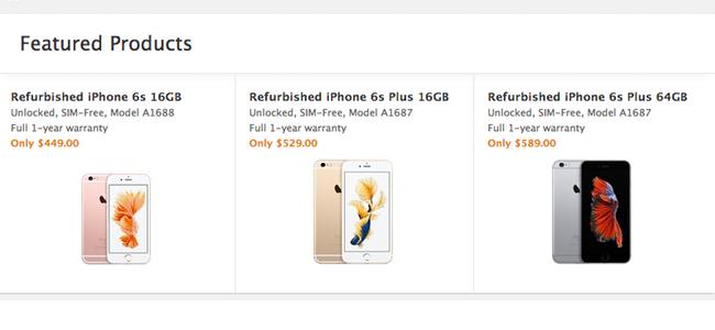 Appleがアメリカの公式オンラインストアで「整備済みiPhone」の販売を開始