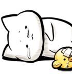 【厳選LINEクリエイターズスタンプ】抱きしめたいしょぼくれ猫「しょぼにゃん」シュールファンシー「ちゃんきーすたんぷ01」ほか