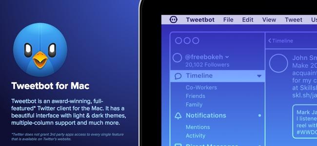人気TwitterクライアントTweetbotのMac版から最新バージョン「Tweetbot 3 for Twitter」がリリース!