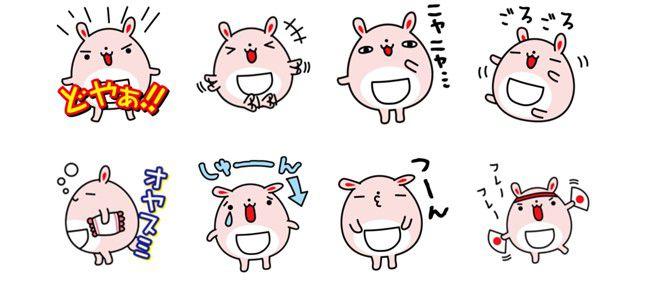 【厳選LINEクリエイターズスタンプ】新時代のクマキャラ「クマサピエンス」、人気急上昇「うさまぁる」など動物キャラが強い!