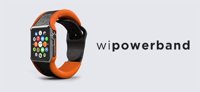 Apple Watchの電池持ちが2倍になるバッテリー内蔵バンド「wiPowerBand」