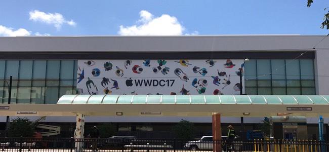 WWDC 2017会場の周辺施設で準備が始まっている模様