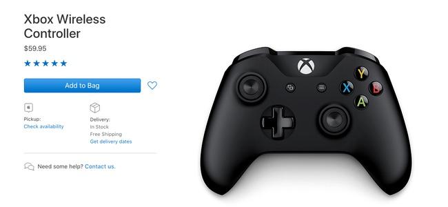 Appleが「Xbox ワイヤレス コントローラー」の販売を開始