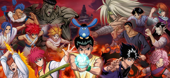 「幽遊白書 100%本気(マジ)バトル」がリリース!豪華な声優陣により名シーンを再現!自分だけのチームを作って戦えるコマンド式RPG。